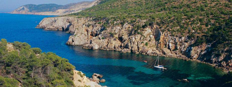 Sailing around Mallorca