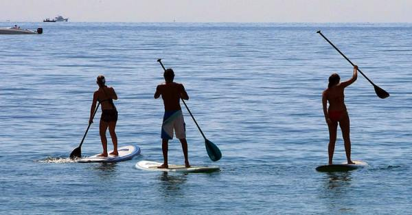 SUP-Stand Up Paddle in Mallorca