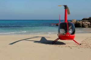 Helicopter tour Mallorca