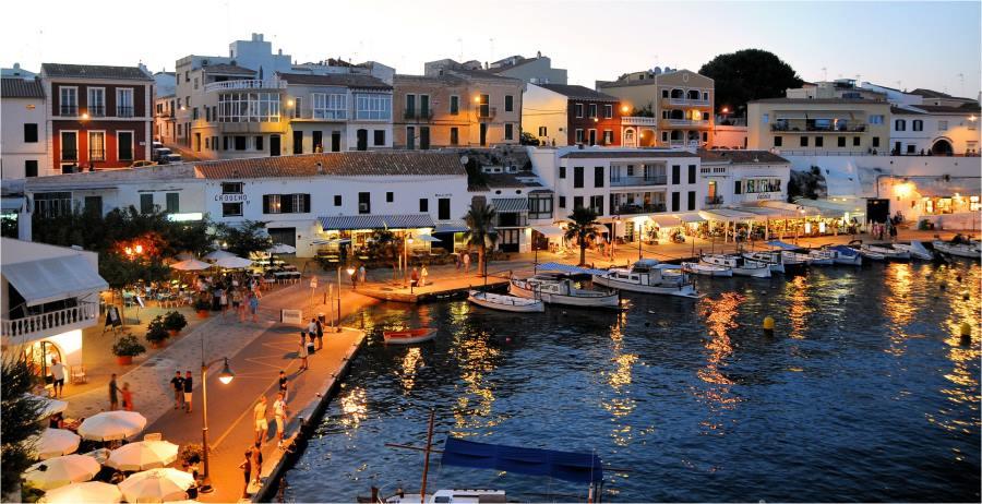 Menorca i västra medelhavet